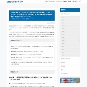 ブランド・ジャパン2015