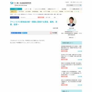 アベノミクス景気総点検 ~順調に回復する賃金、雇用、消費、投資~