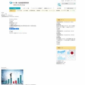 主要経済指標予定(2015年6月22日~6月26日)