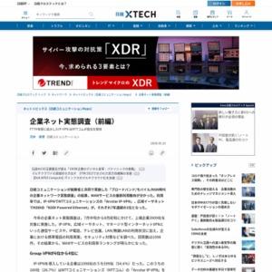 企業ネット実態調査(前編)