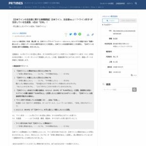 日本ワインの注目度に関する意識調査