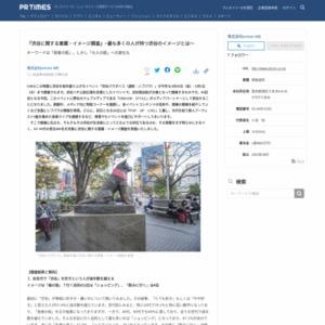 渋谷に関する意識・イメージ調査