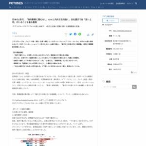 日本のZ世代、「海外勤務に関心なし」62%と内向き志向強く。会社選びでは「良い上司」がいることを最も重視