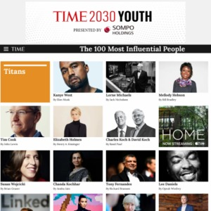 2015 The 100 Most Influential People