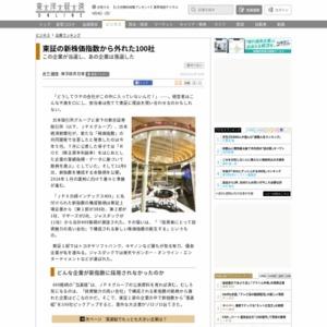 東証の新株価指数から外れた100社