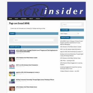 2016 ACADEMIC LIBRARY TRENDS AND STATISTICS