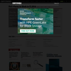 100 Best Places to Work in IT 2014