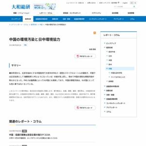 中国の環境汚染と日中環境協力