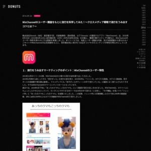 MixChannelのユーザー特性を明らかにする調査