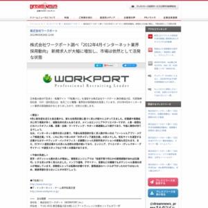 2012年4月インターネット業界採用動向