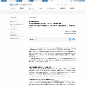 訪日中国人観光客の定性インタビュー調査
