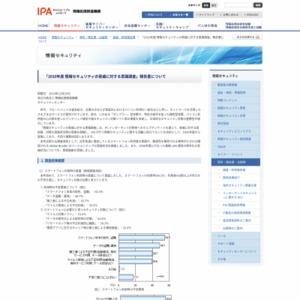 2010年度 情報セキュリティの脅威に対する意識調査