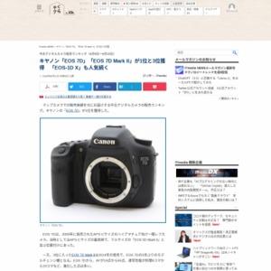 中古デジタルカメラ販売ランキング(2016年6月9日~6月15日)