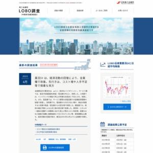 早期景気観測調査 2013年9月