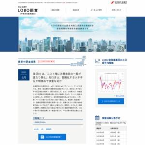 早期景気観測調査(4月調査)