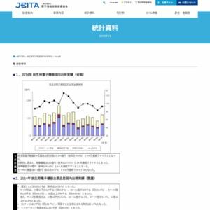 民生用電子機器国内出荷統計(2014年9月分)