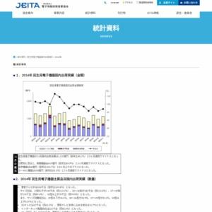 民生用電子機器国内出荷統計(2014年11月分)