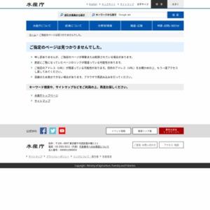 漁港・漁村における防災・減災対策の現状について