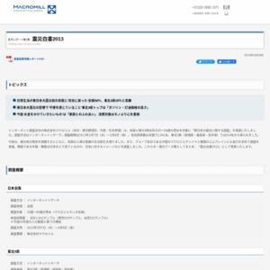 震災白書2013