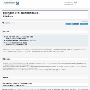 震災白書2014