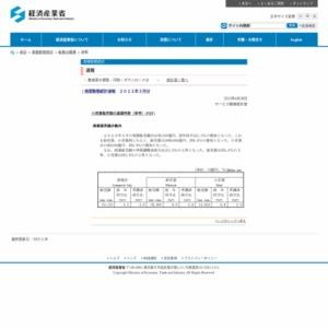 商業動態統計速報(旧:商業販売統計速報) (平成27年5月分)