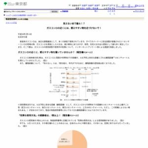 ガスコンロの使用実態や使用中の危険