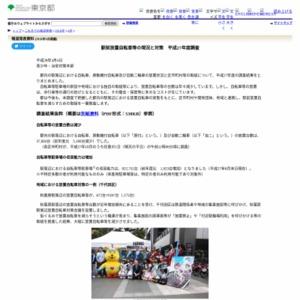 駅前放置自転車等の現況と対策 平成27年度調査