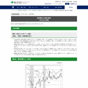 東京都中小企業の景況 平成29年11月調査