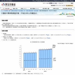 介護給付費実態調査月報(平成23年11月審査分)