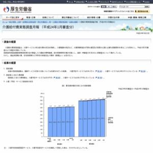 介護給付費実態調査月報(平成24年1月審査分)