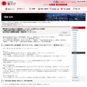観光客の日本滞在中の情報源に「スマホ」を活用する人が急増