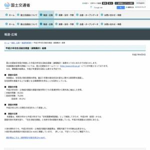 平成25年住生活総合調査(速報集計)