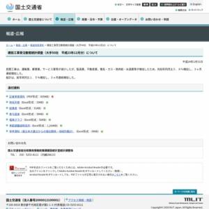 建設工事受注動態統計調査(大手50社 平成23年12月分)