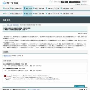 東日本大震災の津波被災現況調査(第3次報告)~津波からの避難実態調査結果(速報)~