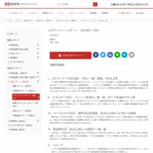 コモディティ・レポート (2014年3・4月)
