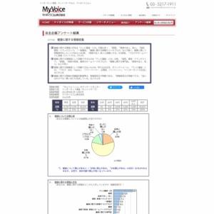 マイボイスコム 健康に関する情報収集