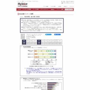 マイボイスコム 今夏の節電・暑さ対策(3)