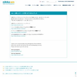 中国の景気対策とリスク資産見直しの動き