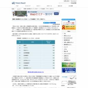 【窯業業界】他社牽制力ランキング2014トップ3は旭硝子、TOTO、日本ガイシ