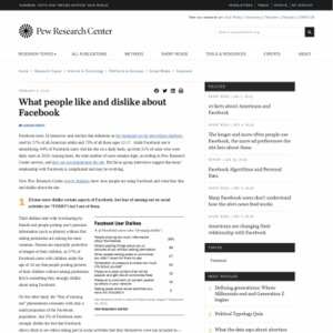 6 new facts about Facebook