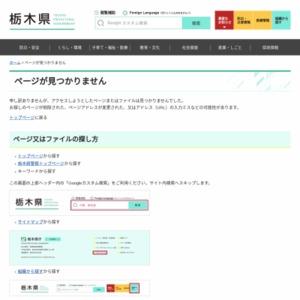 平成26年度栃木県観光動態調査報告書
