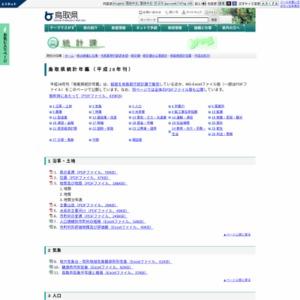 鳥取県統計年鑑(平成28年刊)