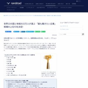 「最も働きたい企業」候補の上位10社