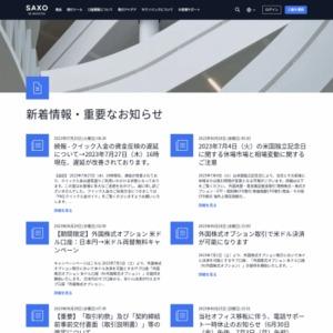 サクソバンク2013年第4四半期マーケットインサイト