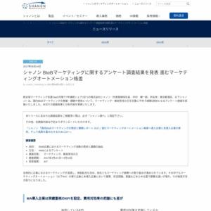 BtoBマーケティングに関するアンケート調査