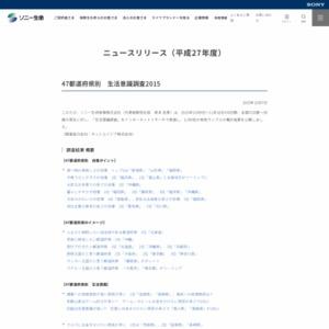 47都道府県別 生活意識調査2015