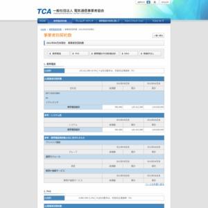 2012年05月末現在 事業者別契約数
