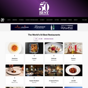 The World's 50 Best Restaurants 1-50