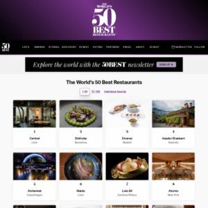 The World's 50 Best Restaurants 51-100