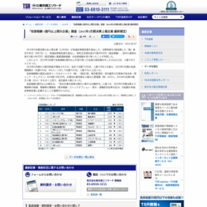 「役員報酬 1億円以上開示企業」調査(2015年3月期決算上場企業 最終確定)